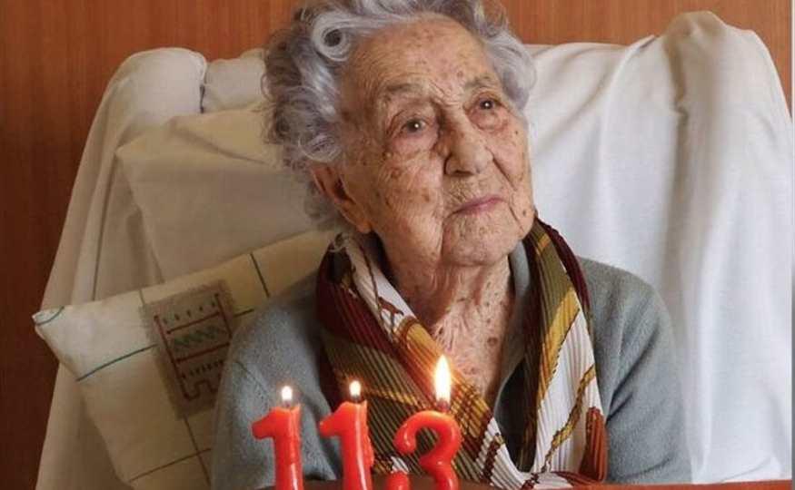 María Branyas, la persona más longeva de España que ha superado el ...