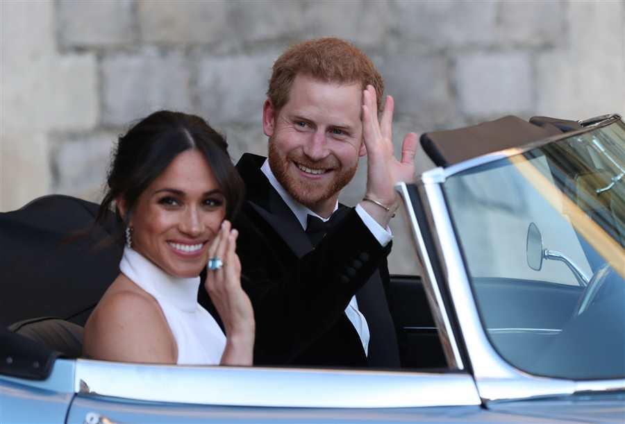 Harry y Meghan boda
