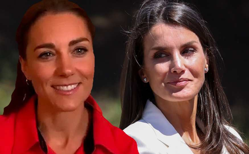 Letizia y Kate Middleton