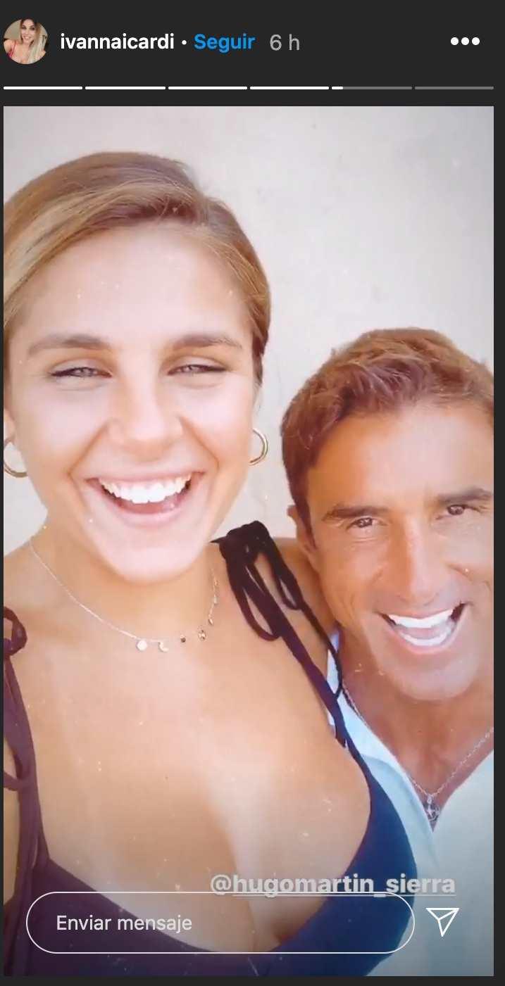 Hugo Sierra Ivana Icardi juntos en Palma
