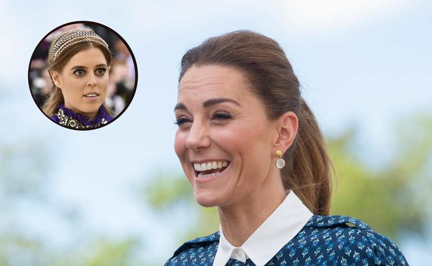 Kate Middleton y Beatriz de York
