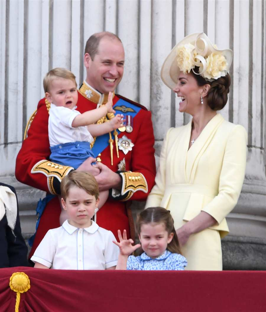 Guillermo, Kate Middleton y sus hijos