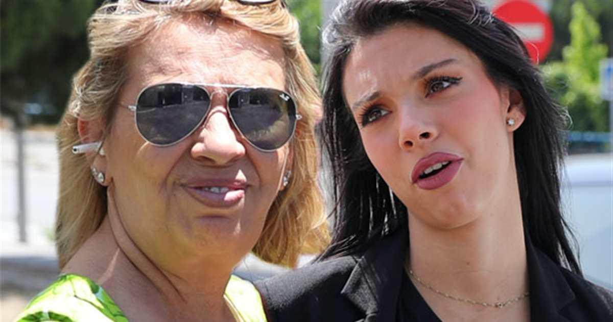 Carmen Borrego zanja la polémica con su sobrina Alejandra Rubio con este gesto