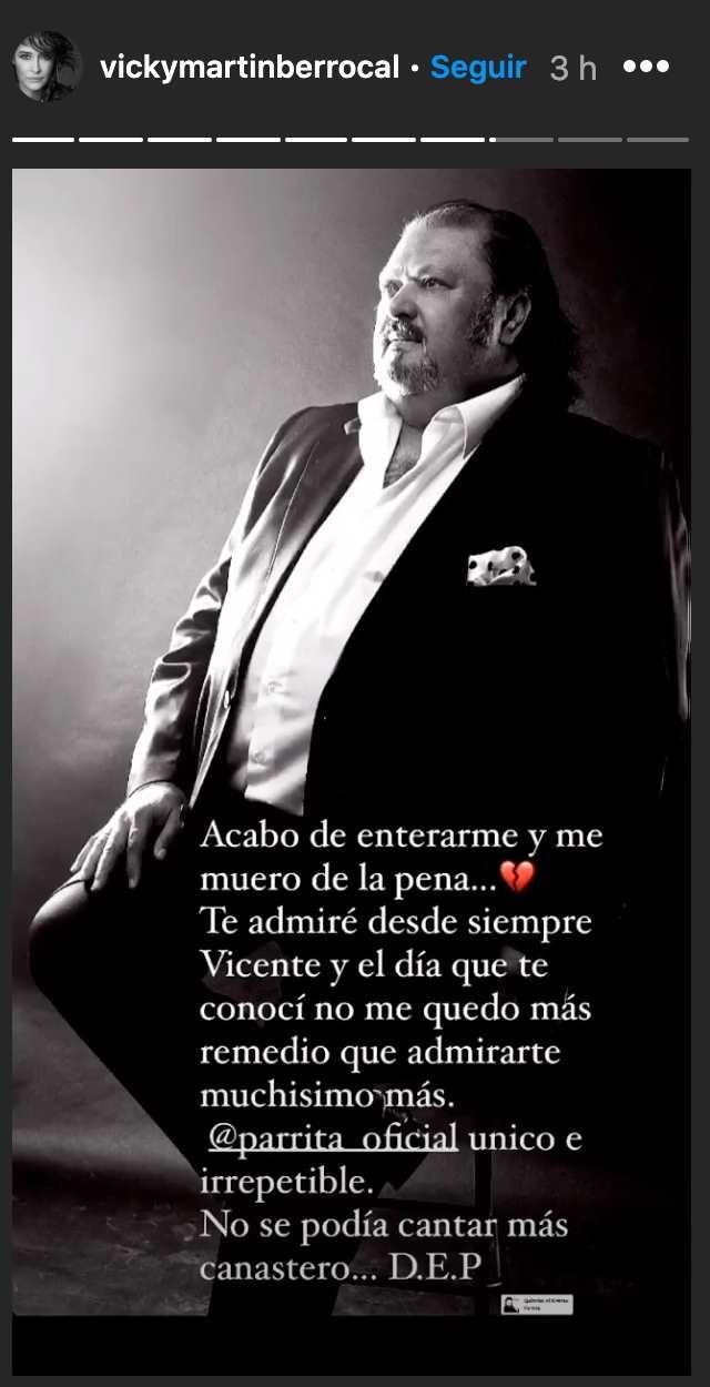 Vicky Martín Berrocal Parrita