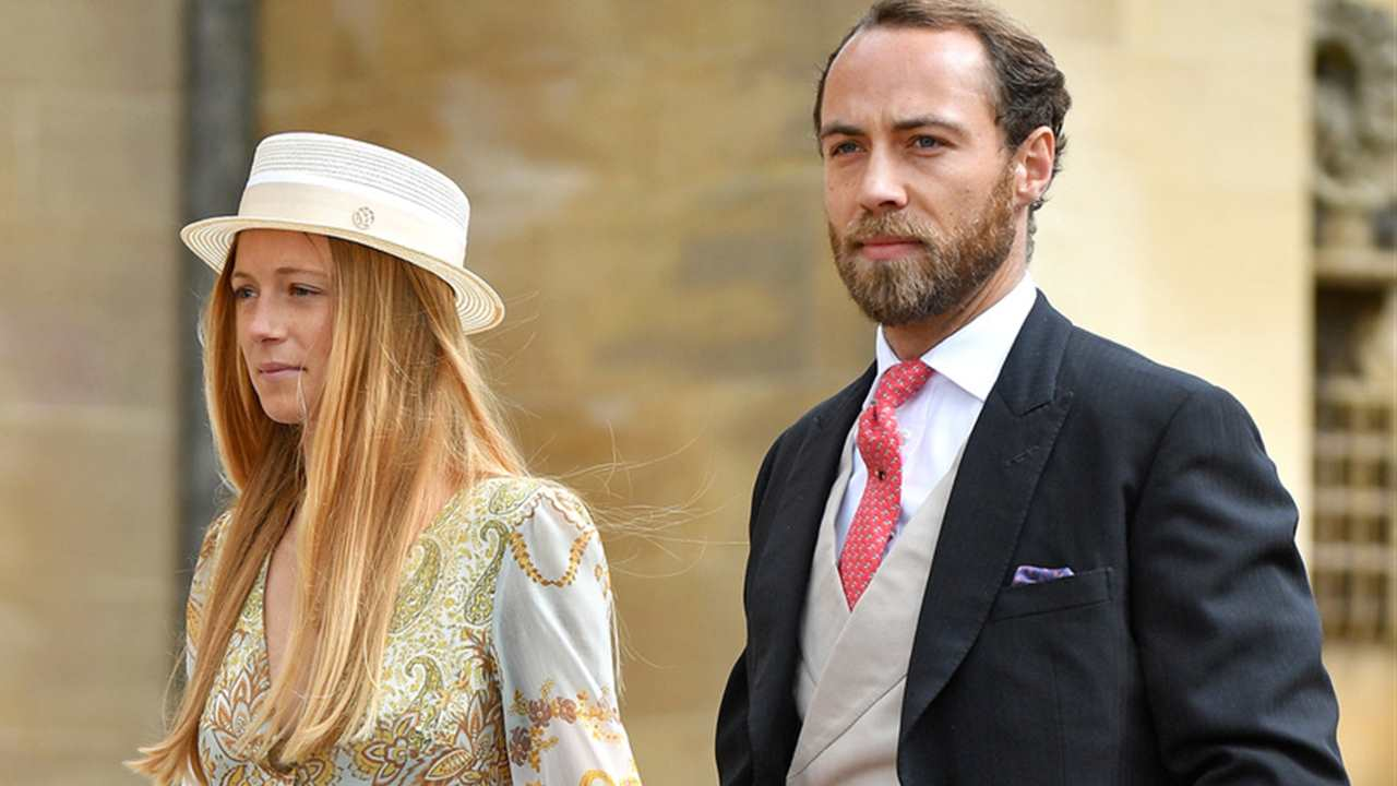 James Middleton y Alizee