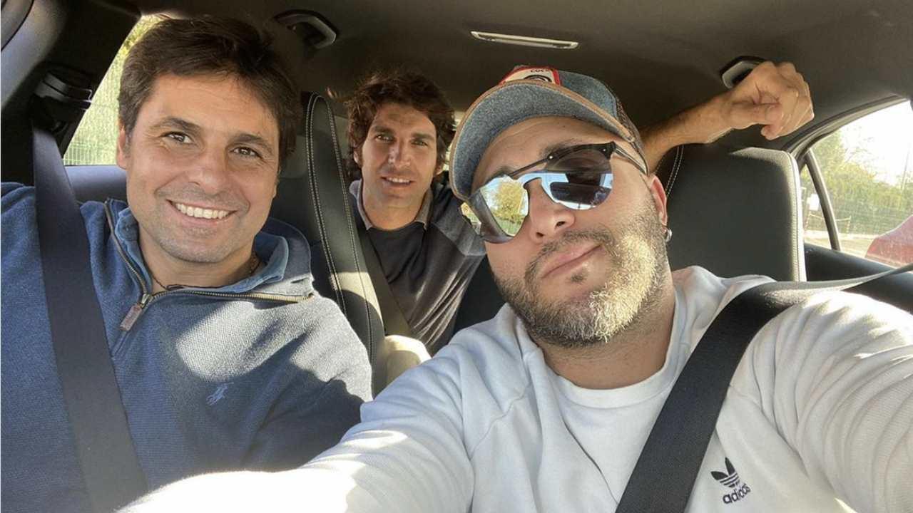 Kiko Rivera y sus hermanos Fran y Cayetano en redes