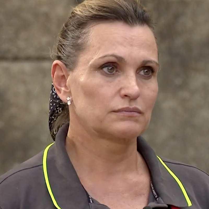 Ainhoa Arteta sufre un ataque de ansiedad en plena semifinal