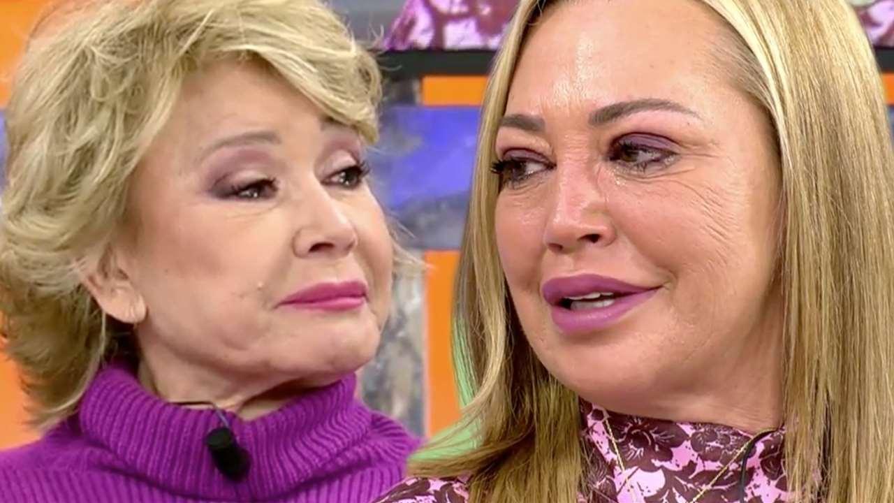 'Save me': Mila Ximénez breaks into tears over these moving words from Belén Esteban