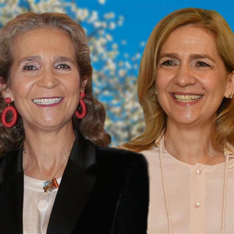 Las infantas Cristina y Elena serán las mujeres más ricas de España: su futuro al descubierto