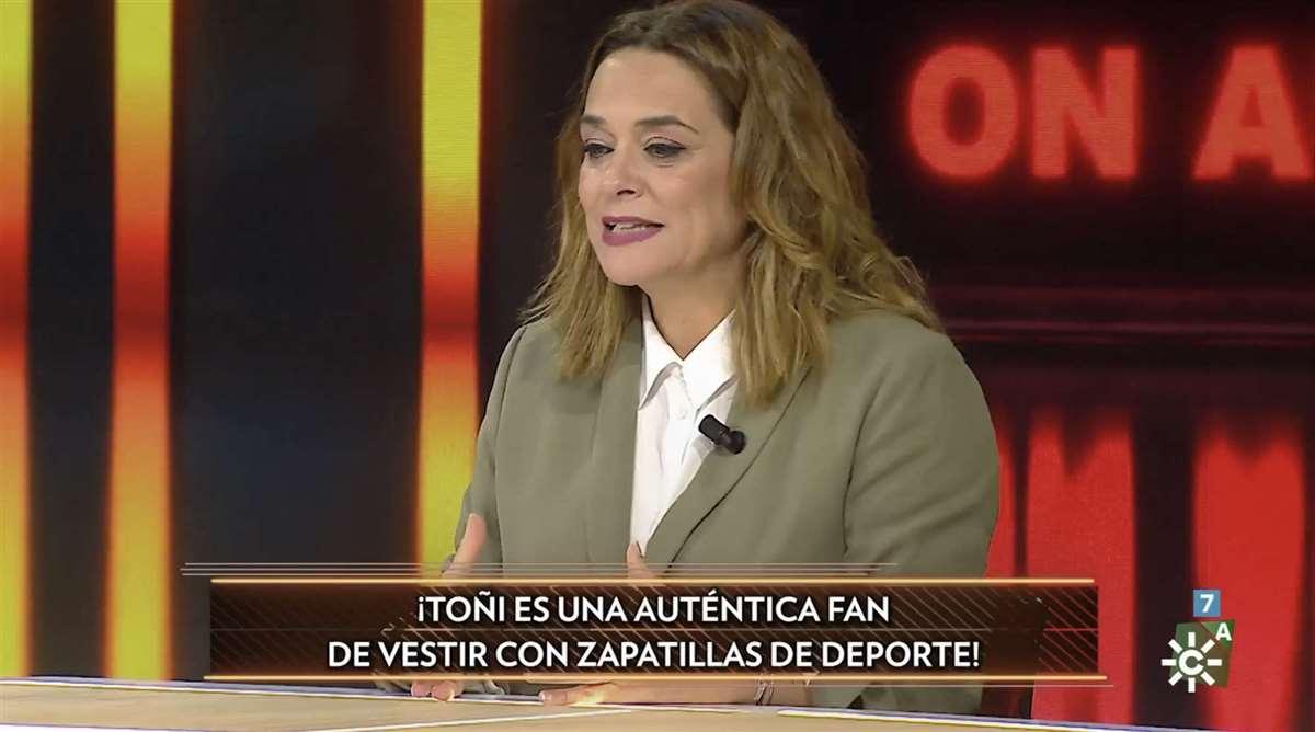 Toñi Moreno en 'El Show de Bertín'