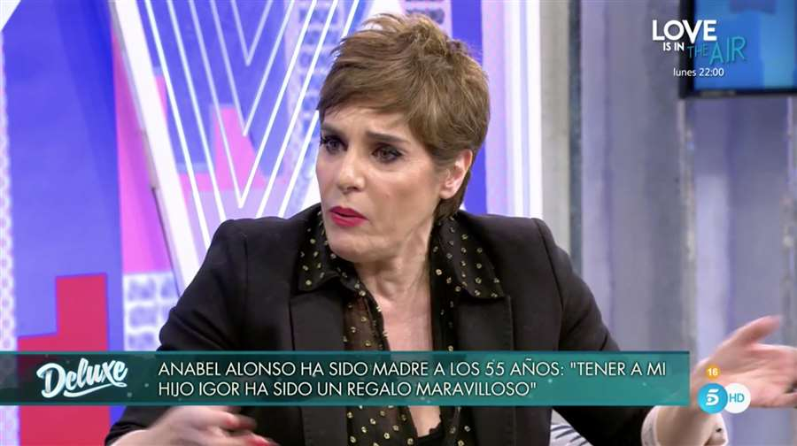 Anabel Alonso Sábado Deluxe