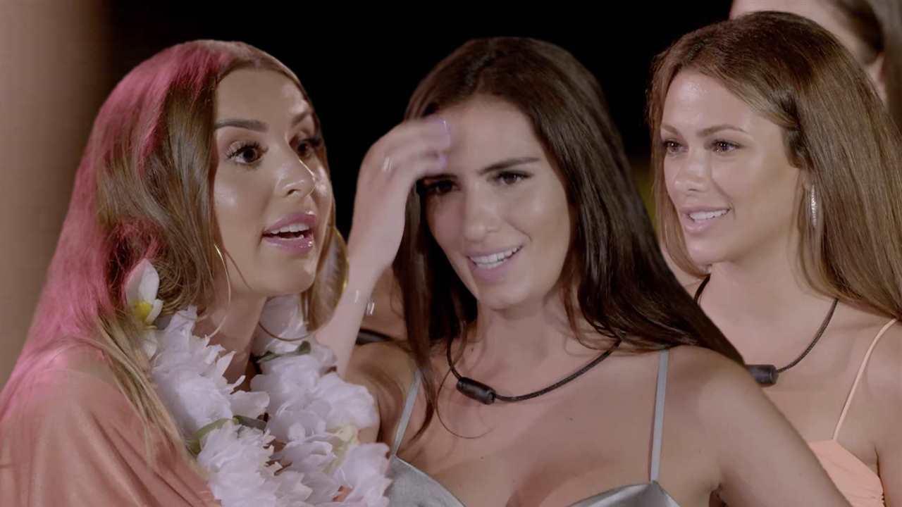 Bela y Stefani desquician a Marina, novia de Jesús, en 'La isla de las tentaciones'