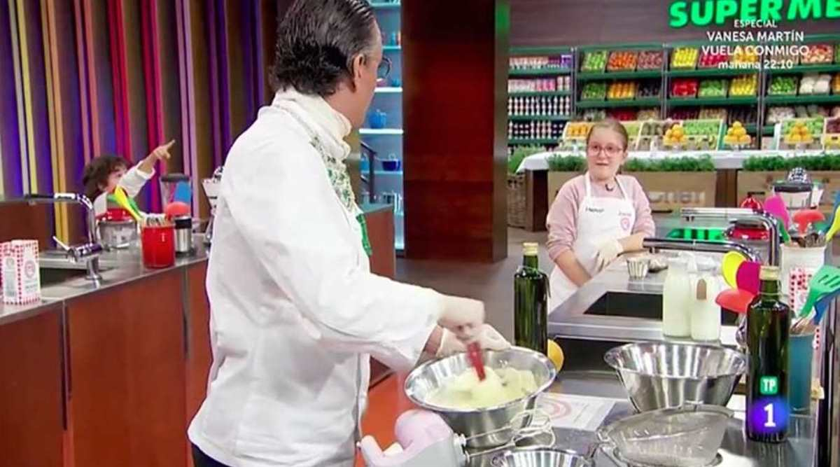 Josie y Henar de 'Masterchef Junior'