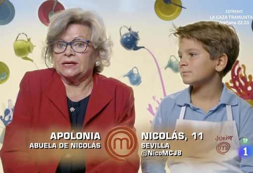 Nicolás masterchef junior