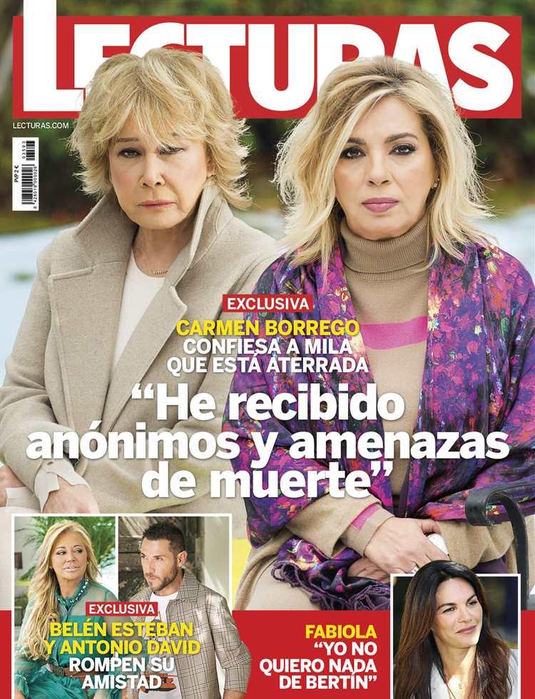 Carmen Borrego confiesa, en exclusiva, a Mila Ximénez que está aterrada: