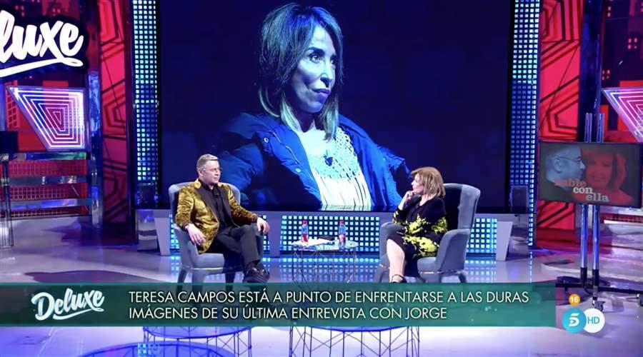 Sábado Deluxe: María Teresa Campos le da explicaciones a Jorge Javier Vázquez