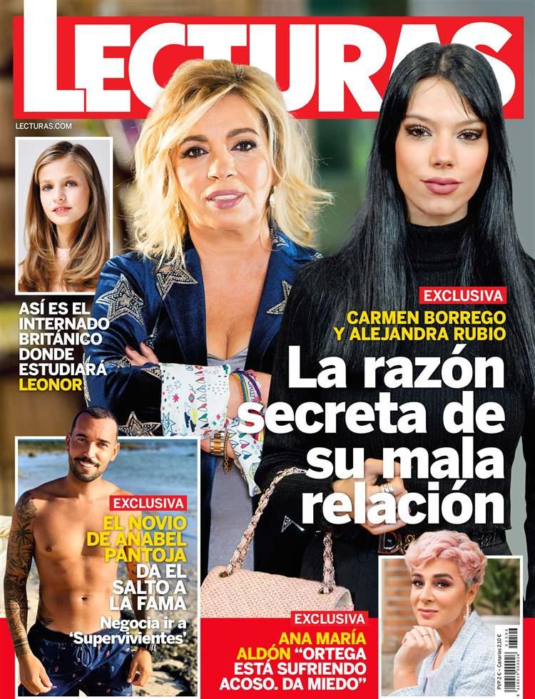 EXCLUSIVA Carmen Borrego y Alejandra Rubio, la razón secreta de su mala relación