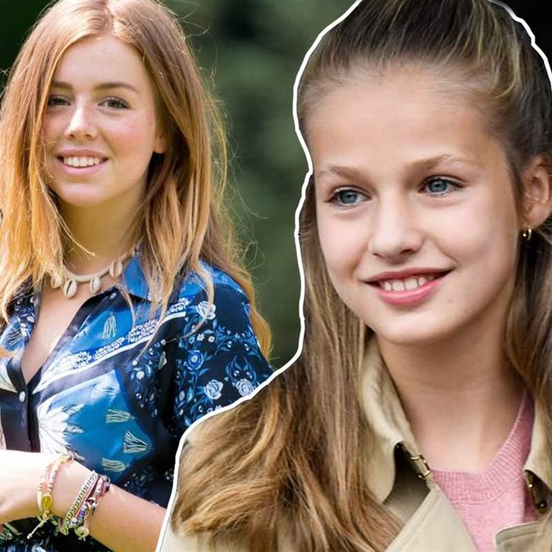 La princesa Leonor y Alexia de Holanda serán futuras compañeras en Gales