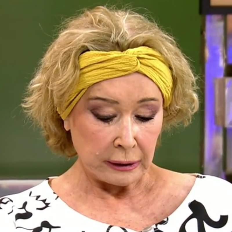 Mila Ximénez se somete a un agresivo tratamiento para no perder el pelo
