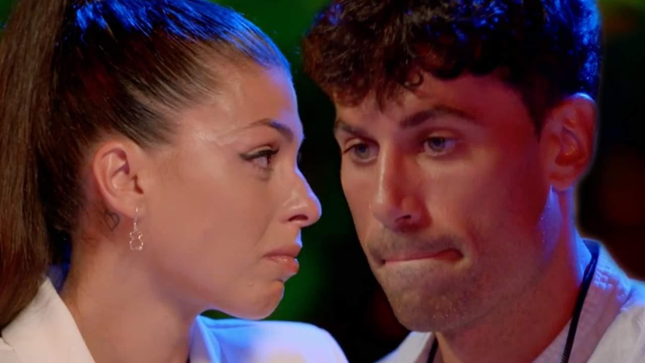 La reacción de Diego al ver a Lola con Carlos en la cama: