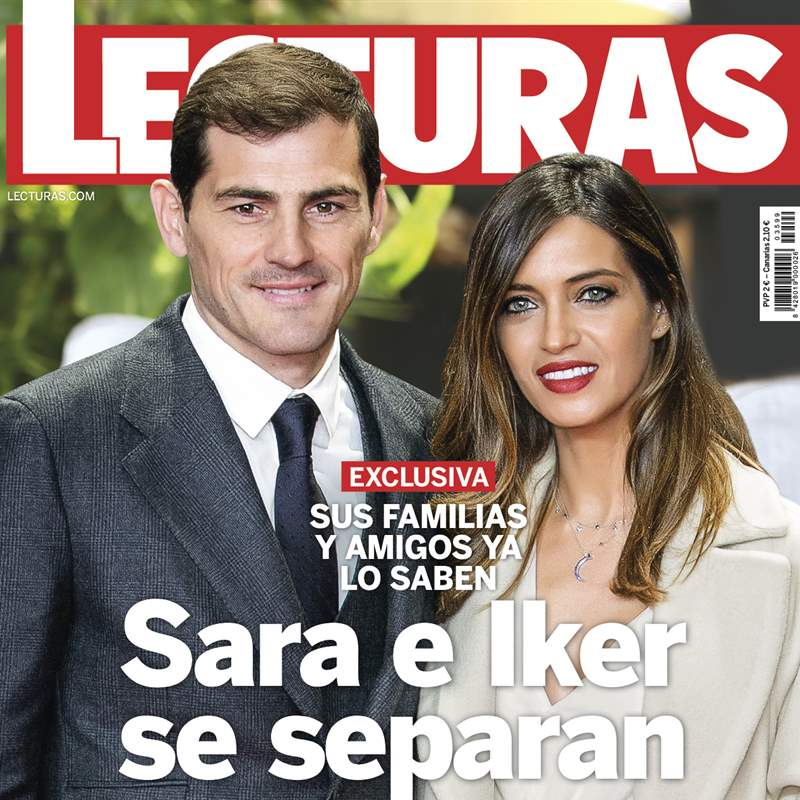 EXCLUSIVA Sara Carbonero e Iker Casillas se separan