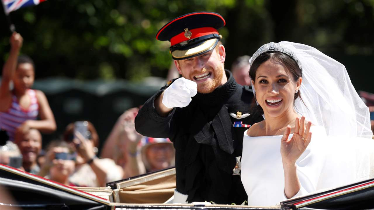 Harry y Meghan Markle boda