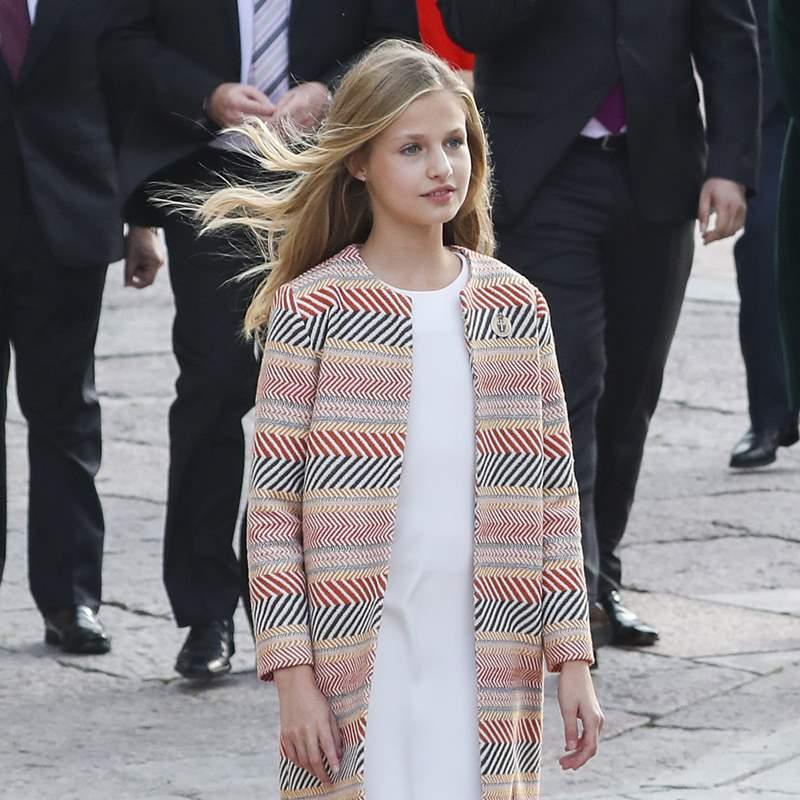 ¿Se despedirá la princesa Leonor como lo hizo Elisabeth de Bélgica?