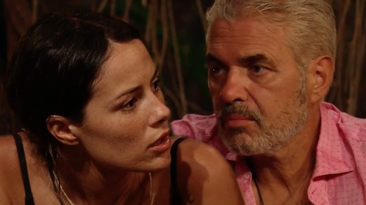 Agustín Bravo saca su carácter con Melyssa Pinto':