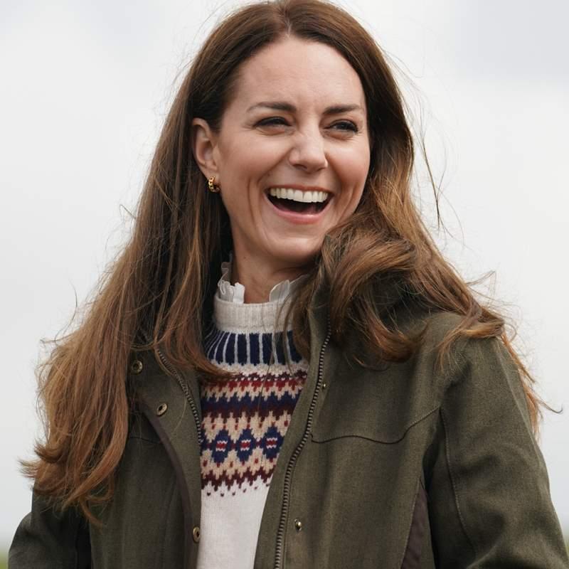 Pastora de cerdos y ovejas y conduciendo un tractor: Kate Middleton, en la situación más inesperada