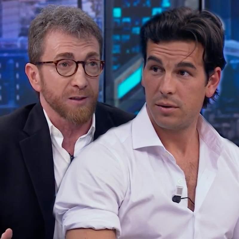 Pablo Motos se pica con Mario Casas en directo:
