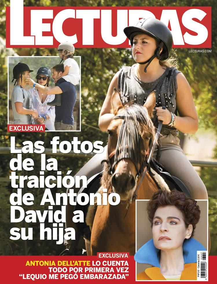 EXCLUSIVA Las fotos de la traición de Antonio David a su hija Rocío Flores