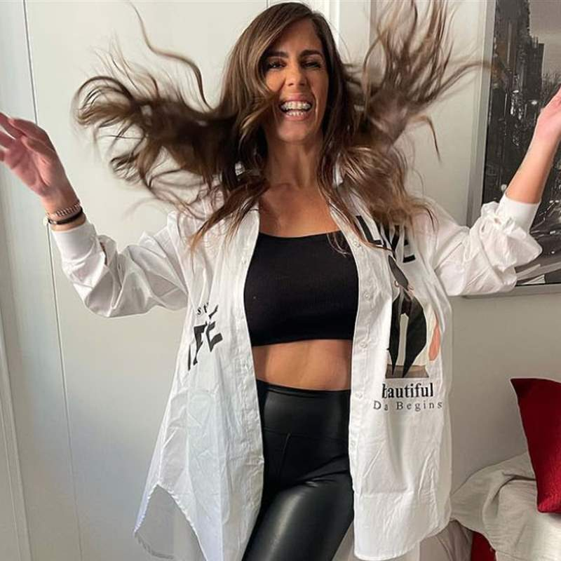 Anabel Pantoja se marca su look más cañero para presumir de su nueva silueta