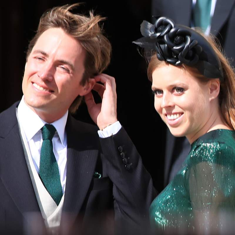 Beatrice of York and Edoardo Mapelli expect their first child together