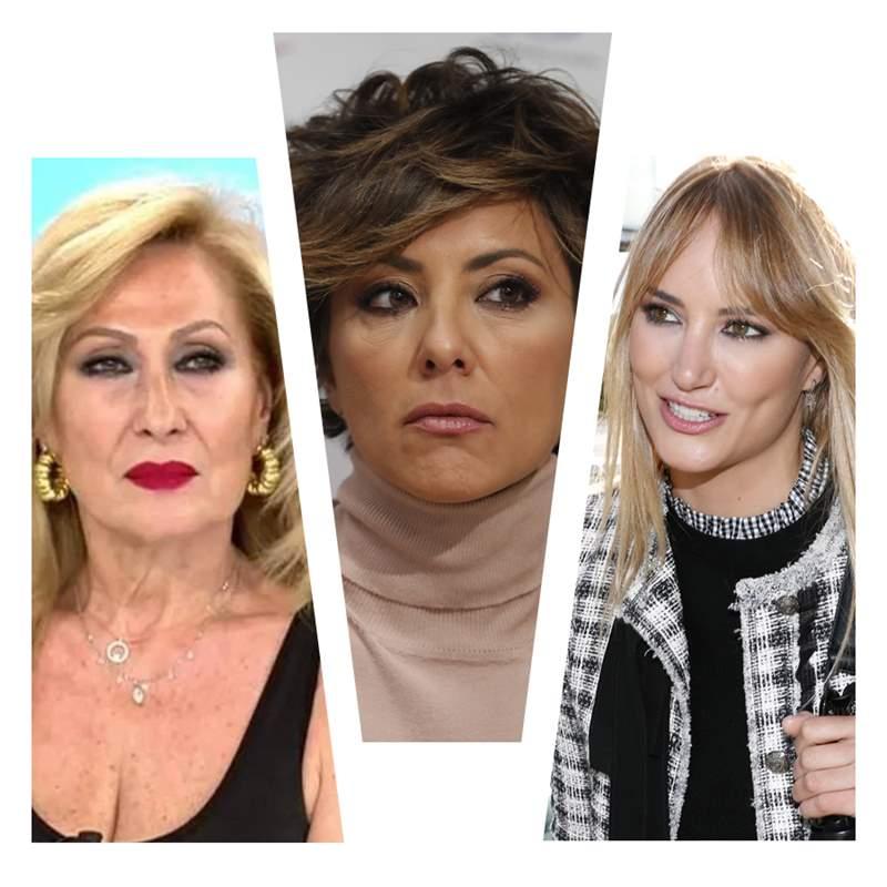 Rosa Benito, Sonsoles Ónega y Alba Carrillo unen fuerzas contra Olga Moreno