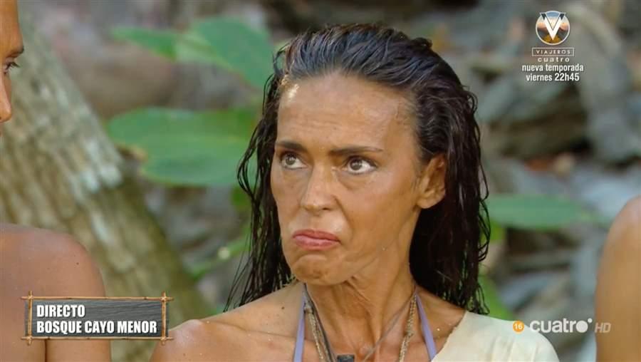 Olga Moreno llora