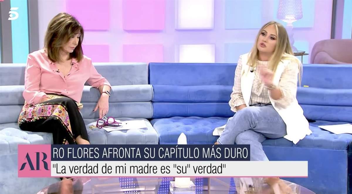 Rocío Flores Ana Rosa Quintana
