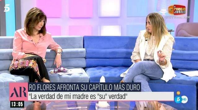 Rocío Flores y Ana Rosa Quintana