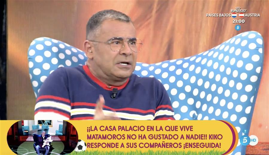 Jorge Javier Vázquez carga duramente contra Rocío Flores en 'Sálvame'
