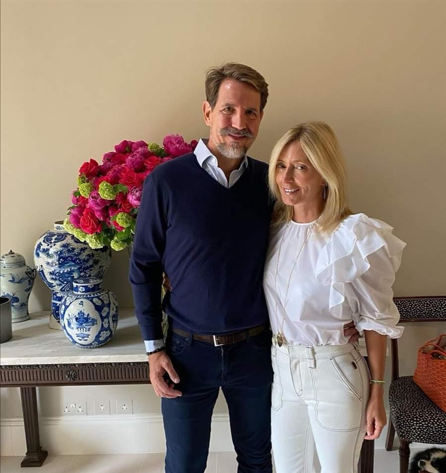 Marie-Chantal y Pablo de Grecia
