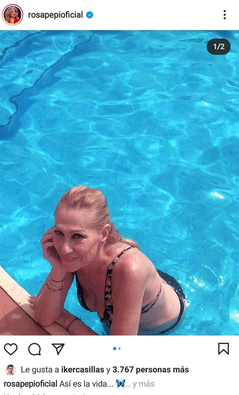 rosa benito piscina
