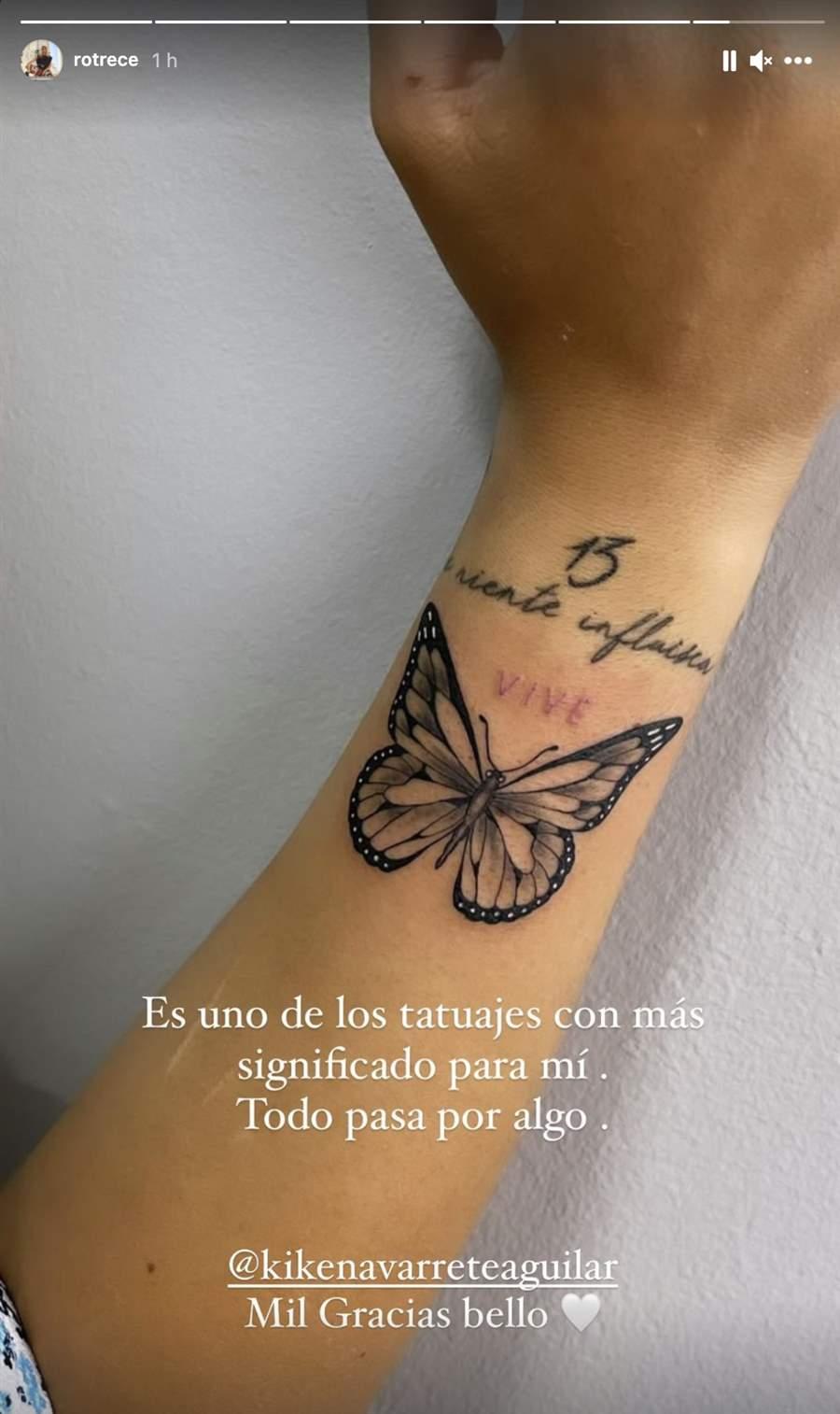 Tatuaje Rocío Flores