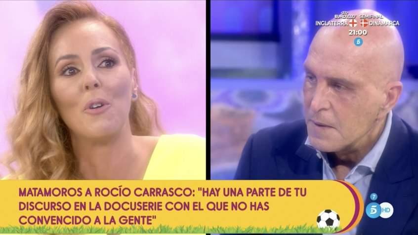 Rocío Carrasco y Kiko Matamoros