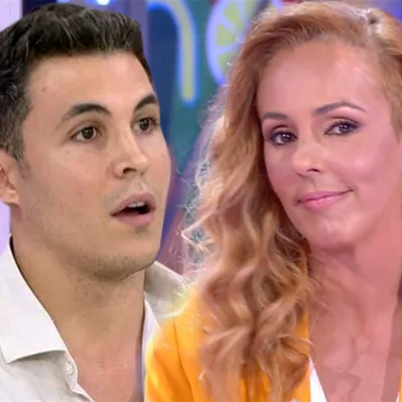 El cara a cara de Rocío Carrasco y Kiko Jiménez en 'Sálvame':