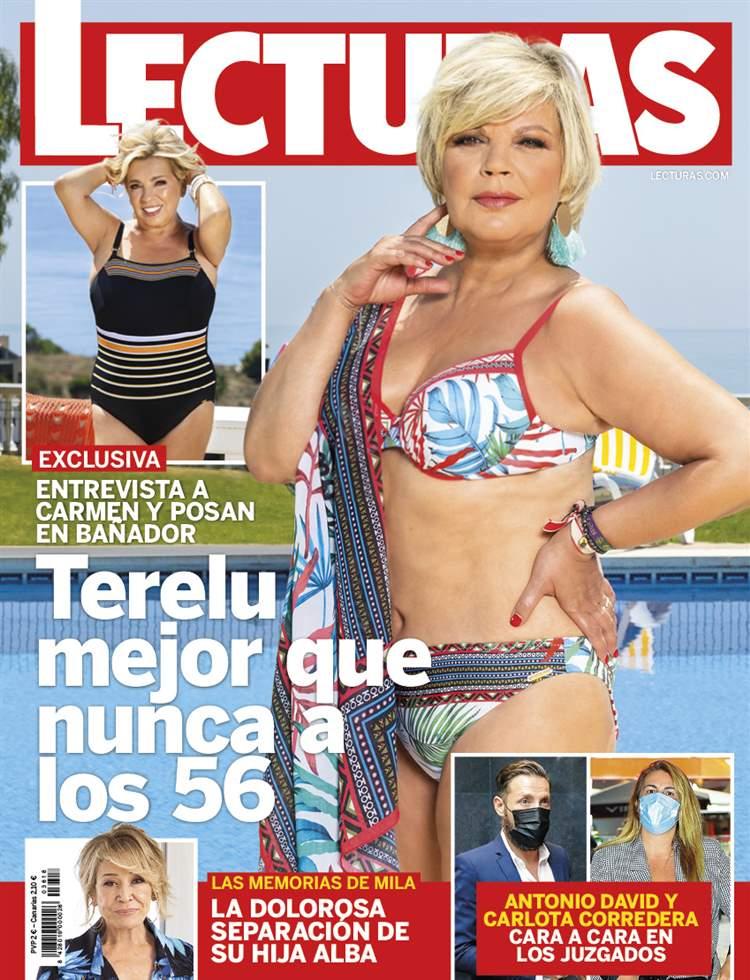 EXCLUSIVA Terelu Campos, mejor que nunca a los 56, entrevista a Carmen Borrego y posan en bañador