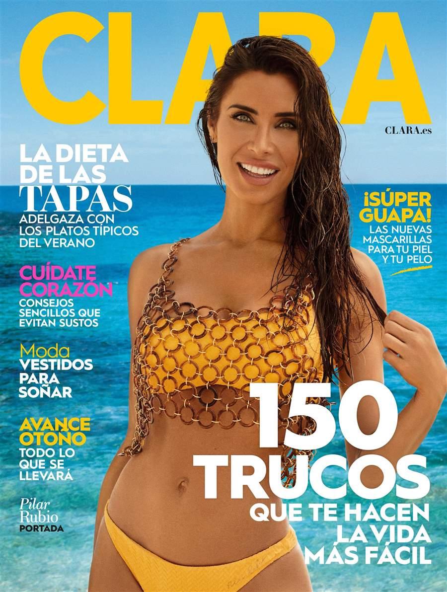 Portada revista Clara Pilar Rubio