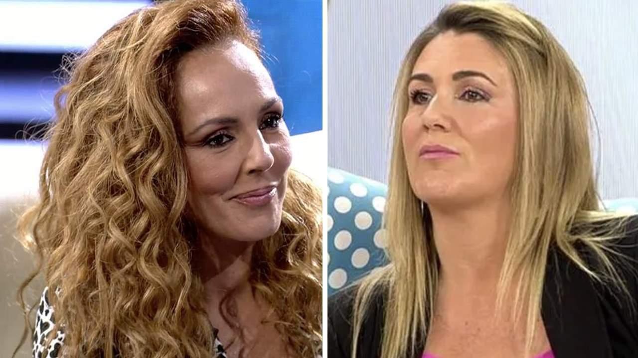 Rocío Carrasco y Carlota Corredera