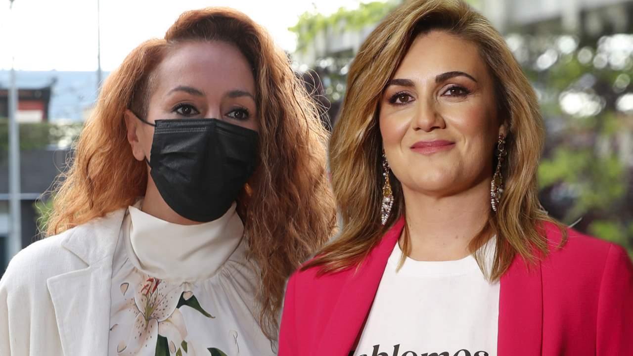 """El abrazo de Carlota Corredera a Rocío Carrasco tras la victoria de Olga Moreno: """"No estás sola"""""""