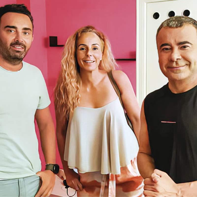 El emocionante encuentro de Rocío y Fidel con Jorge Javier