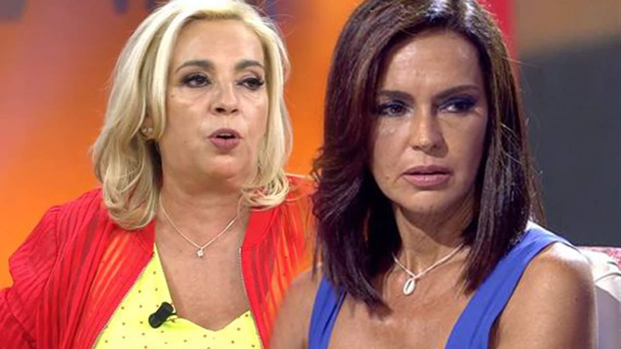 Carmen Borrego y Olga Moreno collage