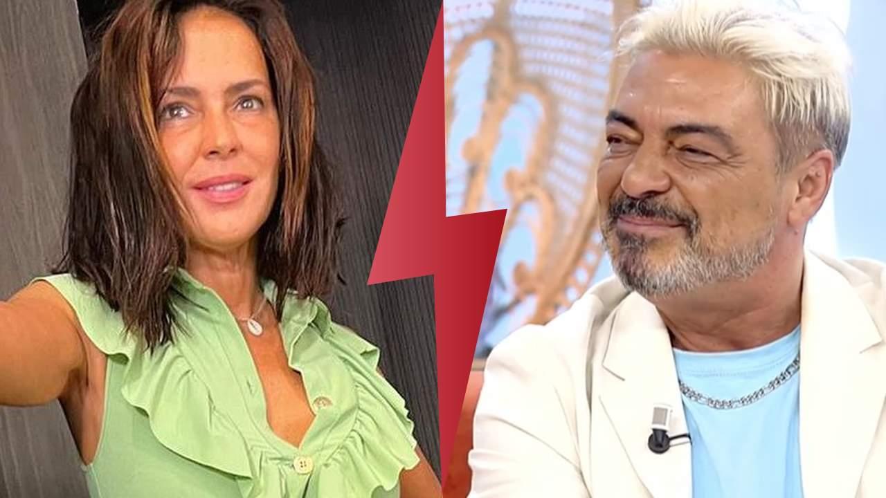 Olga Moreno y Antonio Canales collage